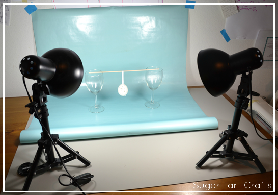table top lighting for photos