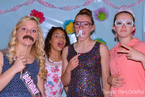 Birthday Party Photo-booth Props