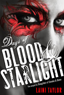 Cover of Days of Blood and Starlight by Laini Taylor