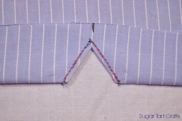 Notched Sleeve Sewing Tutorial