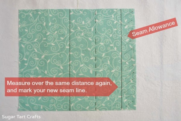 Sewing Tutorial: How to hide a seam inside an inverted box pleat