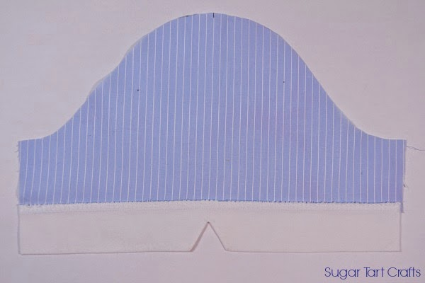 Notched Sleeve Cuff Sewing Tutorial