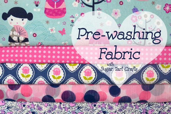 Tip of the Week: Pre-wash your fabric before sewing. (with printable washing guide)