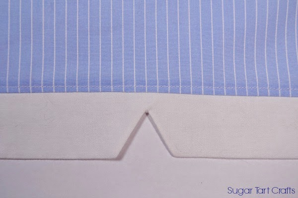 Notched Cuff Sewing Tutorial