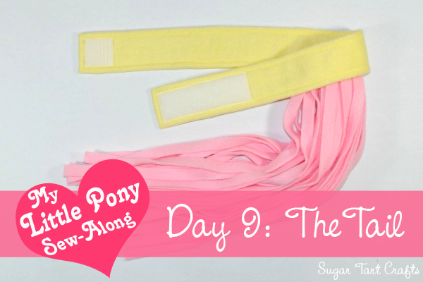 My Little Pony Costume Sew-Along - Day 9: The Tail