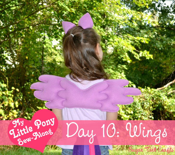 My Little Pony Costume Sew-Along - Day 10: Pegasus Wings