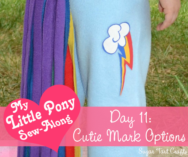 My Little Pony Costume Sew-along - Day 11: Cutie Mark Options