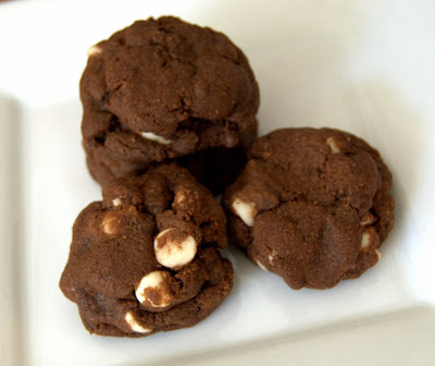 Chewy Chocolate White Chip Cookies : Maybe Matilda