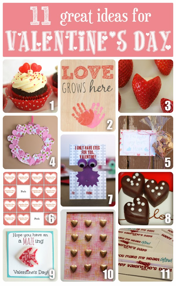 11 Great Valentine's Day Recipes and Crafts