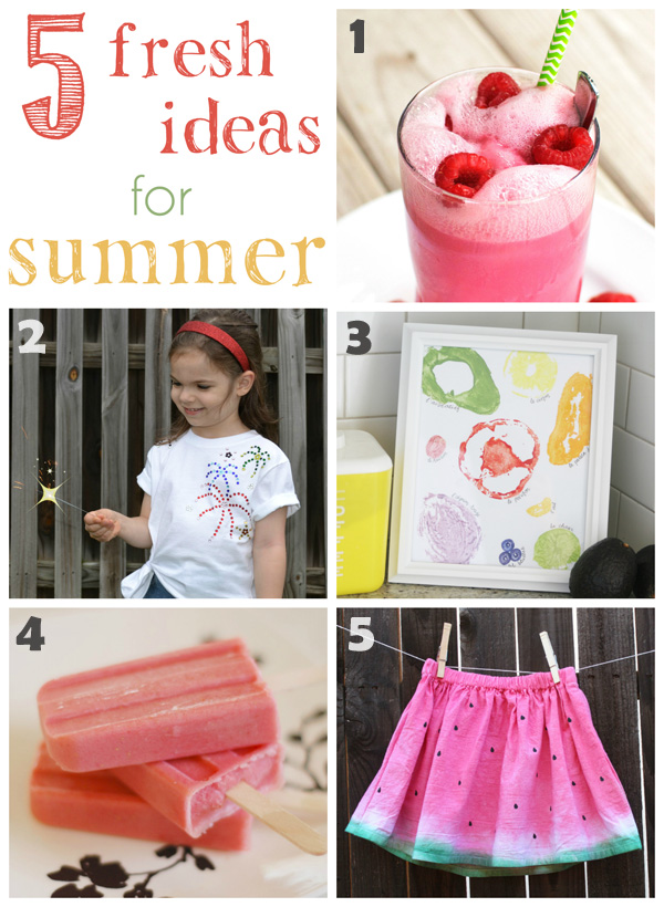 5 Fresh Summer Recipes and Crafts