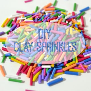 How to make Polymer Clay Sprinkles