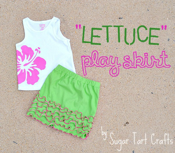 """Lettuce"" Play Skirt Tutorial"