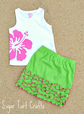 """Lettuce"" Play Skirt"