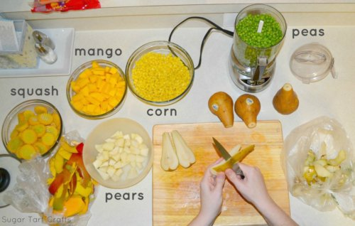 How to make home made baby food