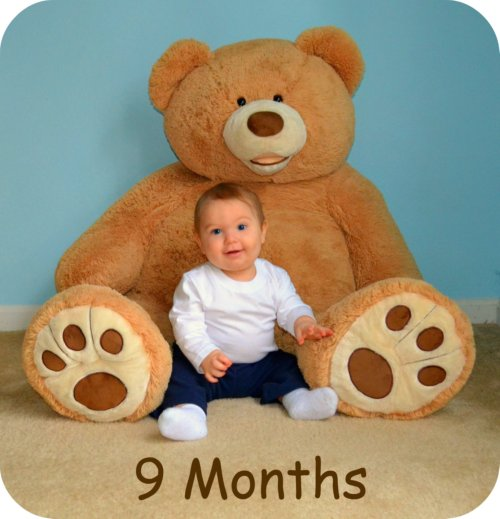 9 month baby growth photos