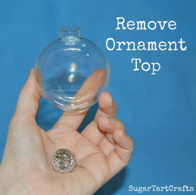 DIY Snowball Ornaments Tutorial