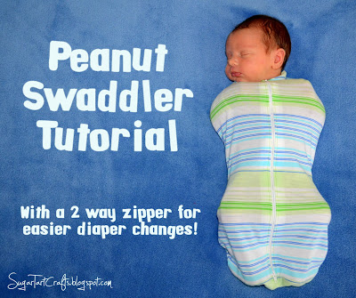 Peanut Swaddler Tutorial