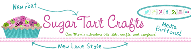 New version of the Sugar Tart Crafts Header