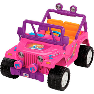 pink power wheels jeep