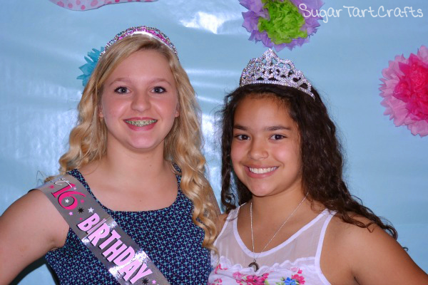 Birthday Party Photo-booth Tiara Props
