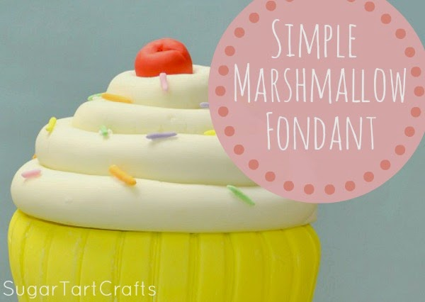 Simple Marshmallow Fondant Recipe