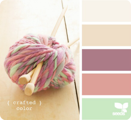 Design Seeds color palette