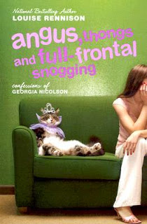 Cover of Angus, Thongs, and Full Frontal Snogging by Louise Rennison