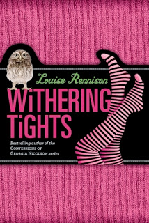 Cover of Withering Tights by Louise Rennison