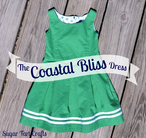 The Coastal Bliss Dress: a nautical inspired Jean Paul Gaultier knock off