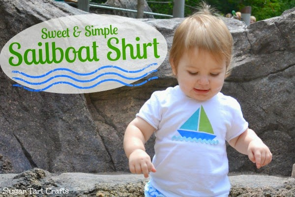 Sailboat t-shirt tutorial (with printable)