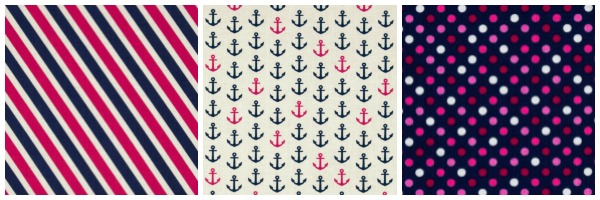 Camelot - In the Navy Fabric Collection