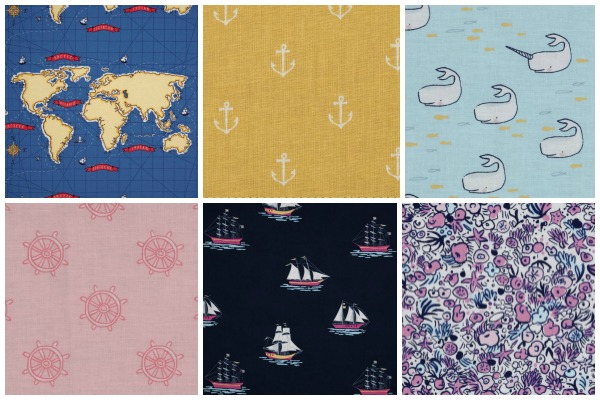 Michael Miller - Out to Sea Fabric Collection