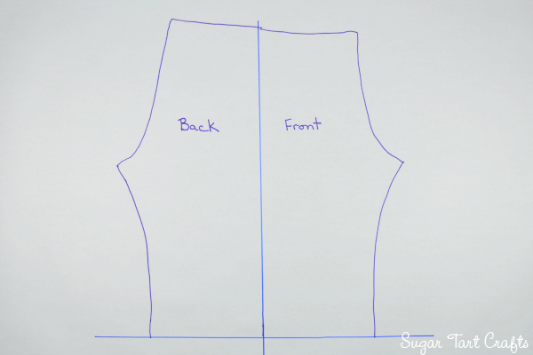 Simple pants sewing pattern
