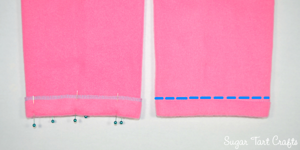 Pants Tutorial - How to sew a pair of pajama pants