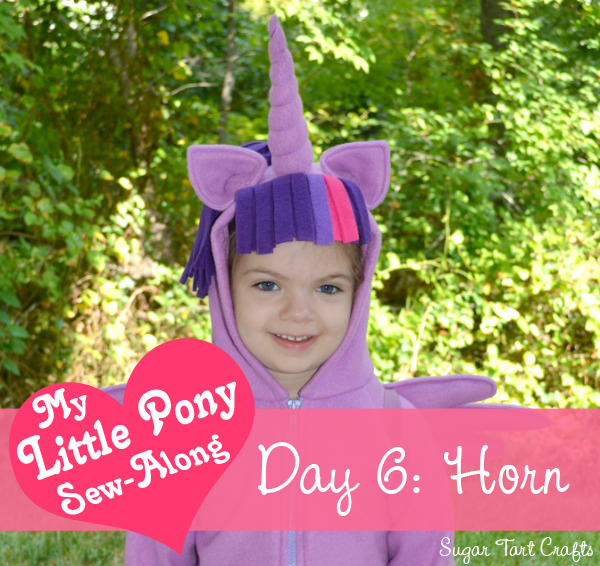 My Little Pony Costume Sew-Along - Day 6: Unicorn Horn