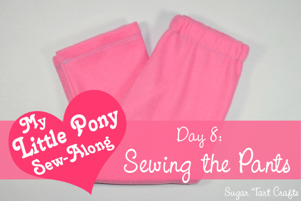 My Little Pony Costume Sew-Along - Day 8: Sewing the Pants