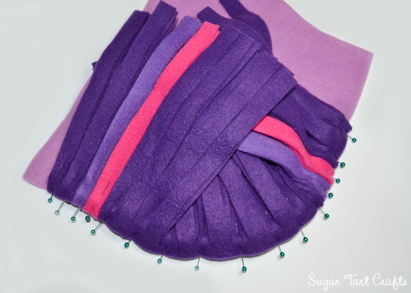 My Little Pony Costume Sew-Along : Day 2 - Adding the mane tutorial