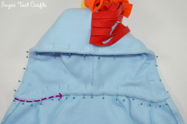 My Little Pony Hoodie Costume Tutorial