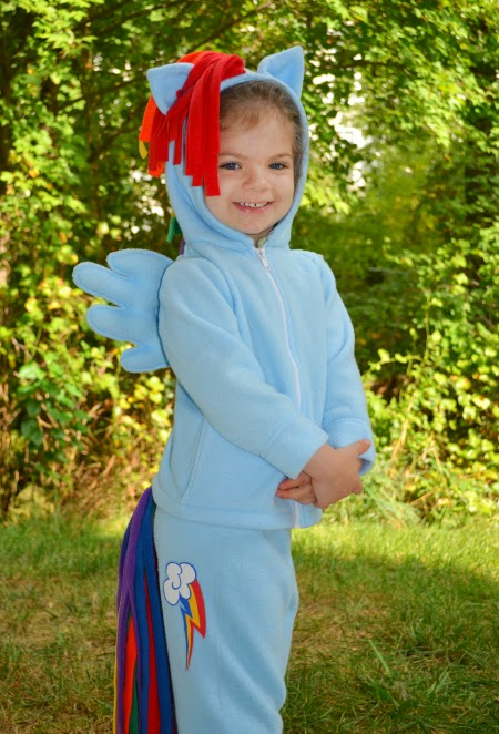My Little Pony costume sew-along tutorial