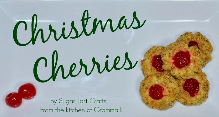Christmas Cherry Cookie Recipe