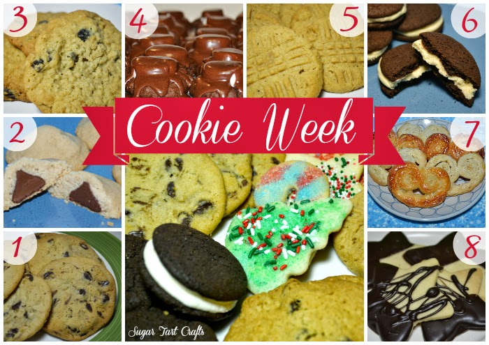 Sugar Tart Crafts Cookie Week Recipies - 8 delicious Christmas cookies!