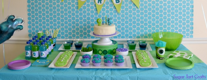 Monsters Inc 2nd Birthday Party