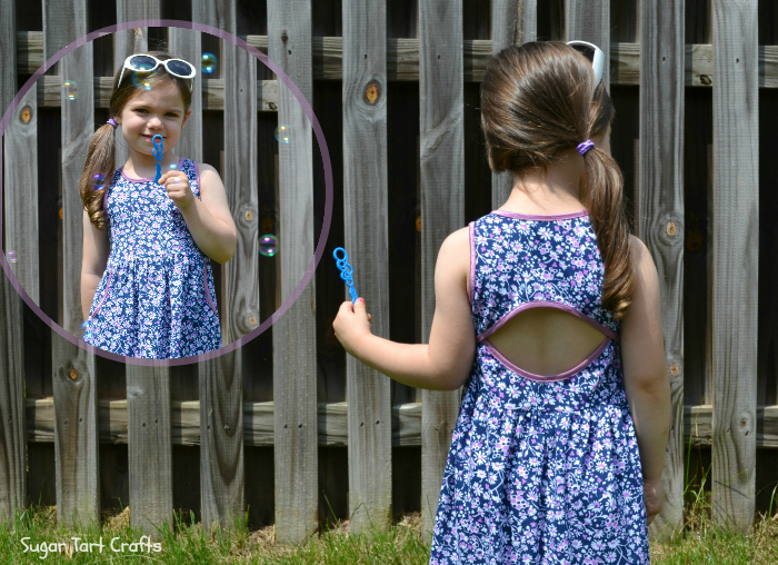 The Soleil Dress sewn by Sugar Tart Crafts