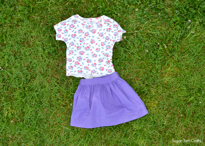 Celestial Tee and Paris Skirt Patterns by Figgy's and Nothing Too Fancy