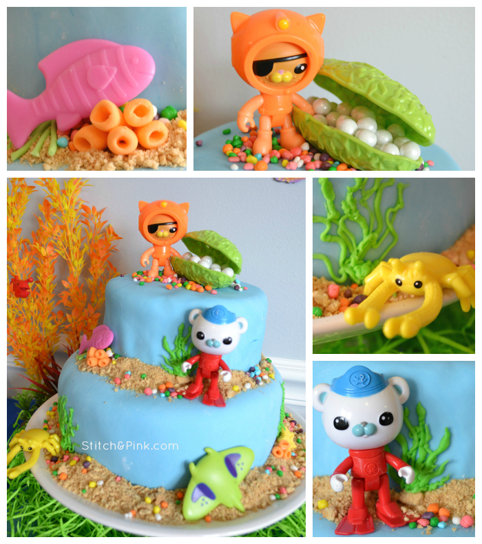 Octonaut Cake Collage - wm