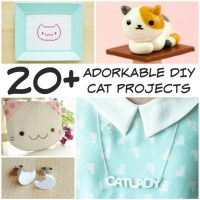 20+ adorable diy cat lover projects