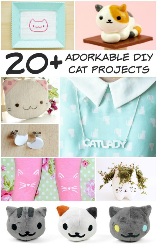 20+ diy projects for cat lovers