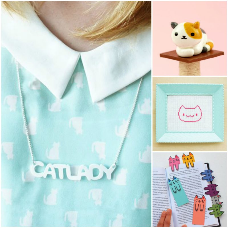 20+ Free DIY cat crafts