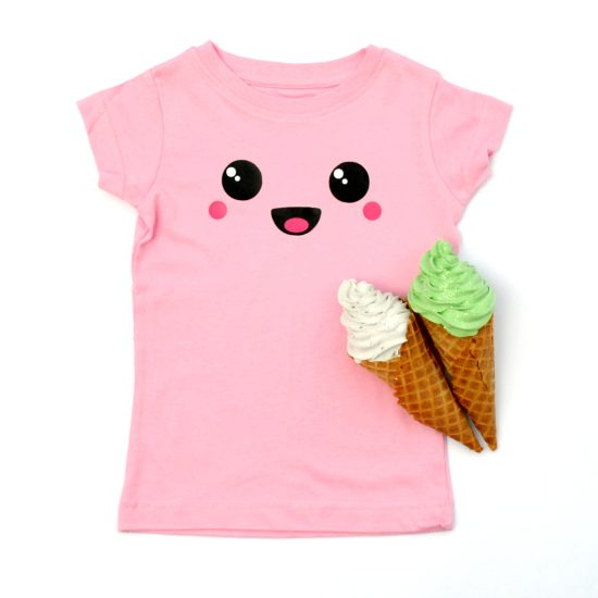 Kawaii Happy Face Tee