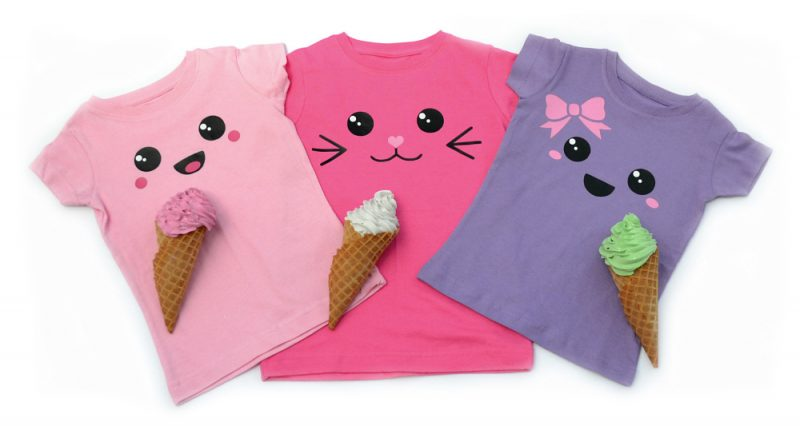 Kawaii Face T-shirts